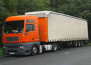 Truck services around Europe