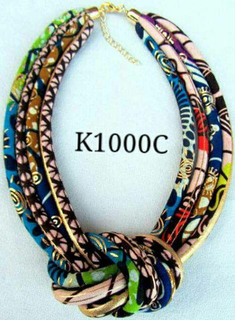 K1C Necklace Fabrics