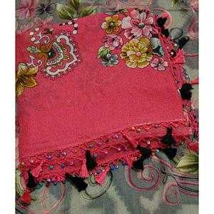 decorated scarf