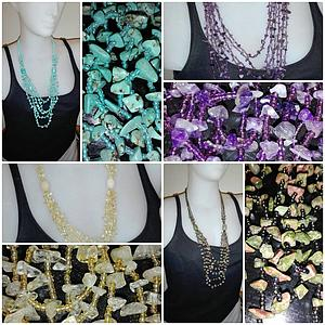 Collares minerales chip
