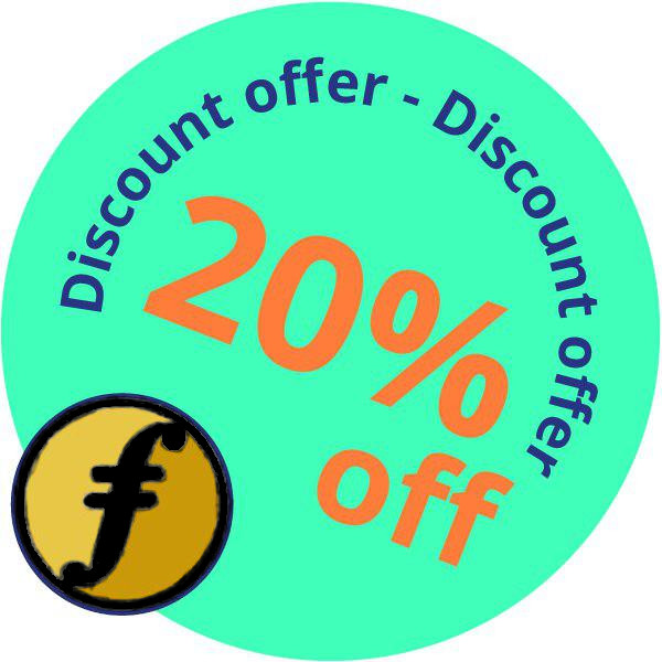 Discount campaign badge
